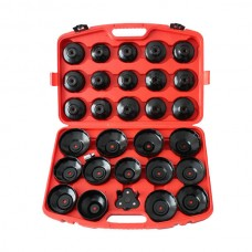 New oil service tools 30pcs Oil Filter Cap Wrench Set Removal Socket Kit