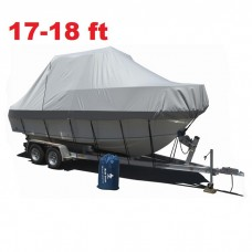 17-19 ft Jumbo Boat Cover 5.2-5.8m Trailerable Rain Sun Debris Mariner