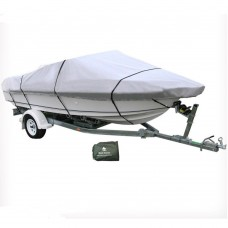 12-14 ft Trailerable Marine Boat Cover 3.6-4.2M Rain Sun UV Half Cabin