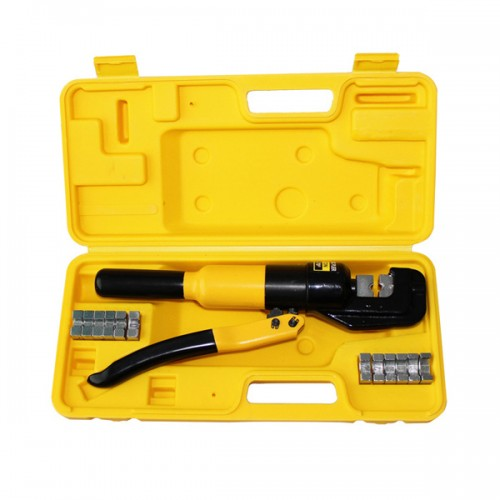 8 Ton Hydraulic Crimper 8 Die 6mm-70mm Cu Wire Force Crimping Tool Kit