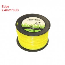 2.4mm Trimmer Line 3LB Square 250M Cord Brush Cuter Whipper Snipper Mow