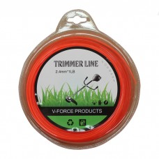 Line trimmer cord 2.4mm 1lb 86-90m round whipper snipper brushcutter
