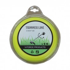 Trimmer Line 2.4mm 1L Whipper Snipper Cord Square Brush Cutter Mower