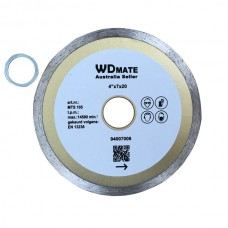 "10 X Wet Diamond Cutting Wheel 4.0"" 105mm Continuous Saw Blade Disc Bore 20mm for Concrete Brick Tile"