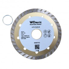 "10 X Dry Wet Diamond Cutting Wheel 4.5"" 115mm Turbo Saw Blade Disc Bore 22.23mm for Concrete Brick Tile"