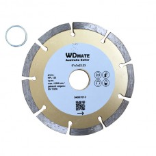 "10 X Dry Diamond Cutting Wheel 5"" 125mm Segmented Saw Blade Disc Bore 22.23mm for Concrete Brick Tile"