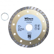 "10 X Dry Wet Diamond Cutting Wheel 5"" 125mm Turbo Saw Blade Disc Bore 22.23mm for Concrete Brick Tile"