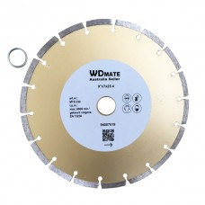 "5 X Dry Diamond Cutting Wheel 9"" 230mm Segmented Saw Blade Disc Bore 25.4mm for Concrete Brick Tile"