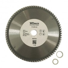 "3 X 10"" 250 mm 80Teeth TCT Circular Saw Blade for Aluminium And Plastic Cutting"