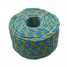 6mm Telstra Rope 50M Parramatta Coils Roll Break 595Kg UV 3 strand Boat
