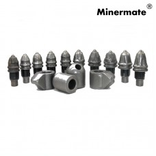 Tungsten Carbide Earth Auger Drill Bullet Bit Rotary Crushers Road rehabilitation Planning